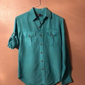 Ralph Lauren - Teal casual button down